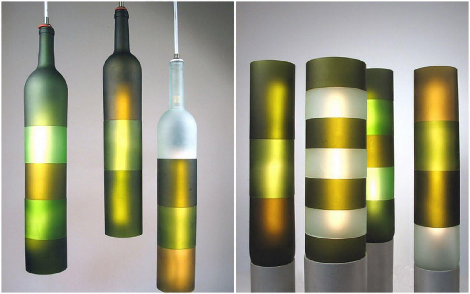 Какграфировать стеклянные бутылки световая схема